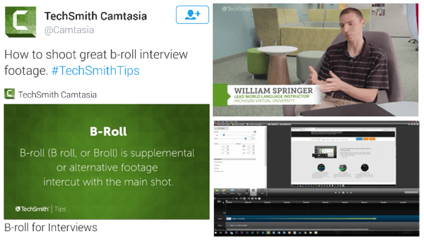 techsmith twitter video ad