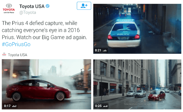 toyota twitter video ad