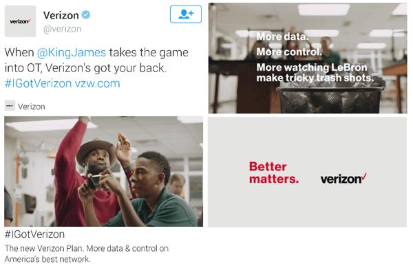 verizon twitter video ad