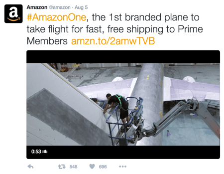 amazon branded link