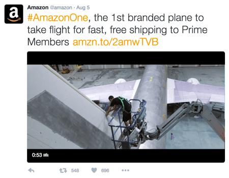 amazon branded link
