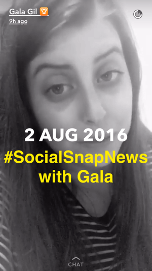 snapchat industry updates example