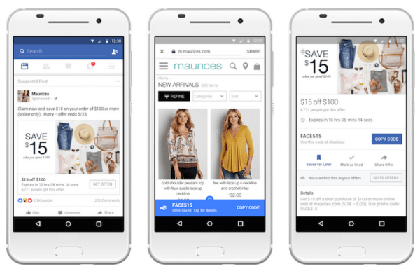 facebook offers redesign