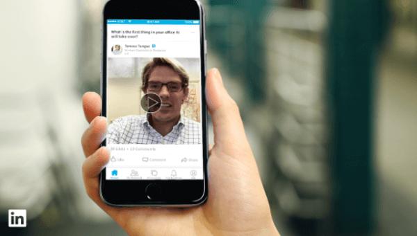 linkedin influencer video