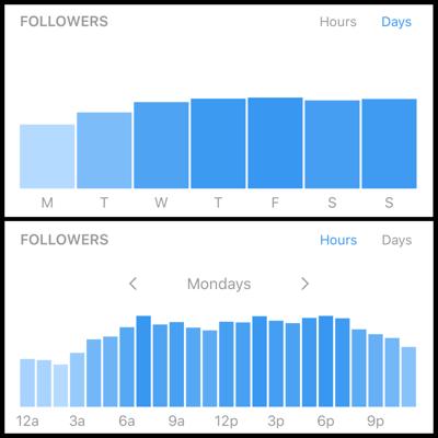 Einblicke in das Instagram-Geschäftsprofil