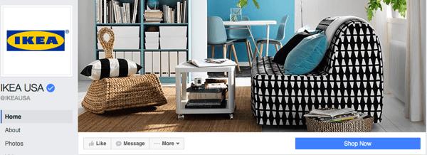 neues Facebook-Seitendesign