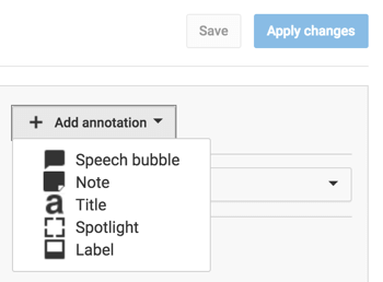 youtube add annotation