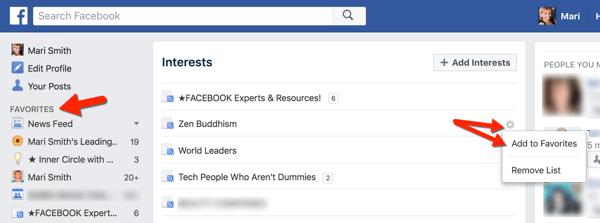 facebook ad favorite