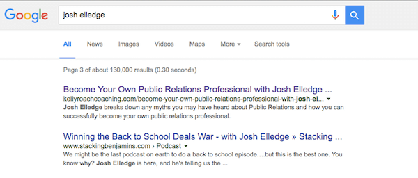josh elledge google search