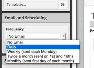 hootsuite email and scheduling