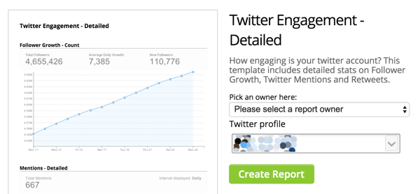hootsuite twitter engagement detailed template