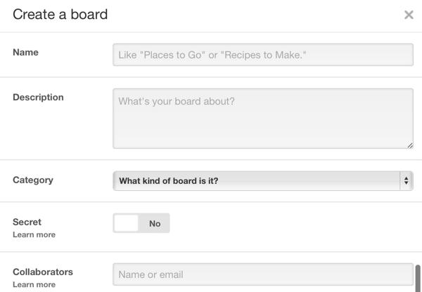 create pinterest guest board