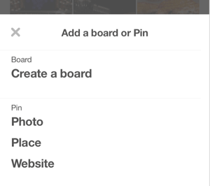 create pinterest place pin