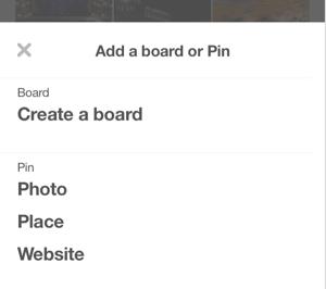 create pinterest place pin