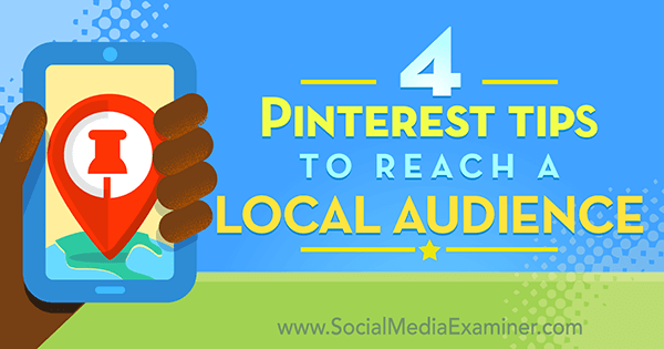 pinterest tactics for local businesses