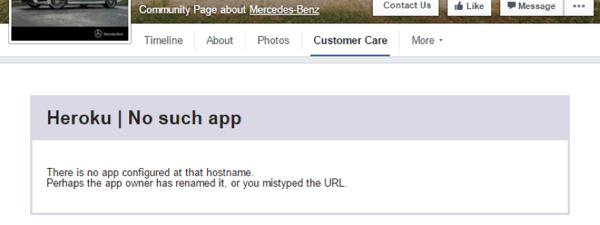 customer service app on facebook