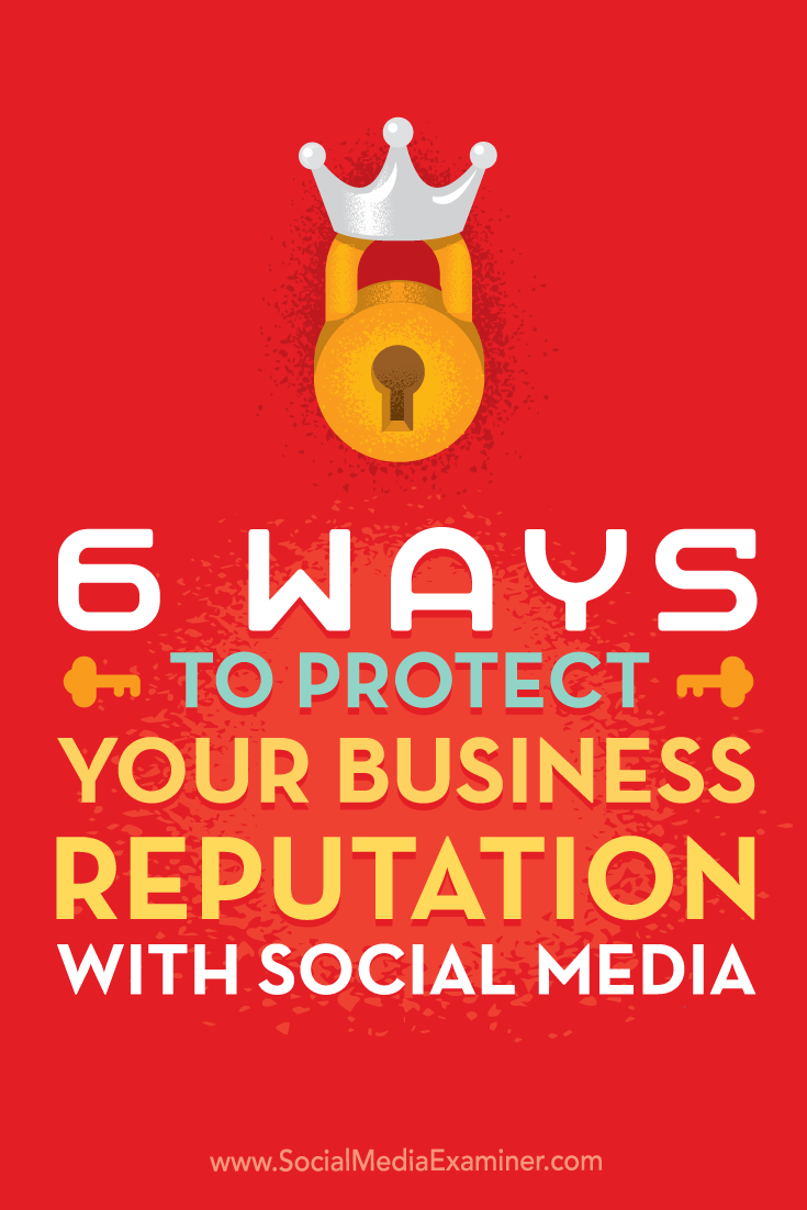 Tips on six ways to ensure you present the best side of your business on social media.