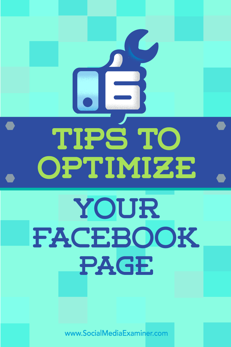 Tips on six ways to create a more complete presence with your Facebook Page.