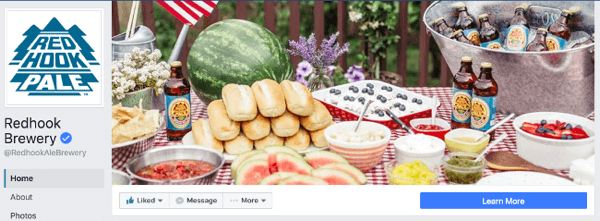 redhook brewery facebook cover photo