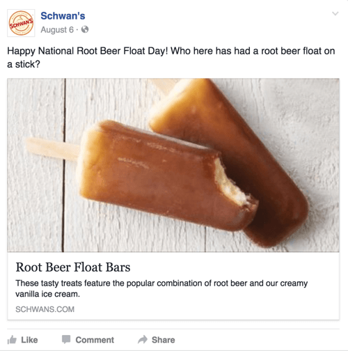 schwans facebook post