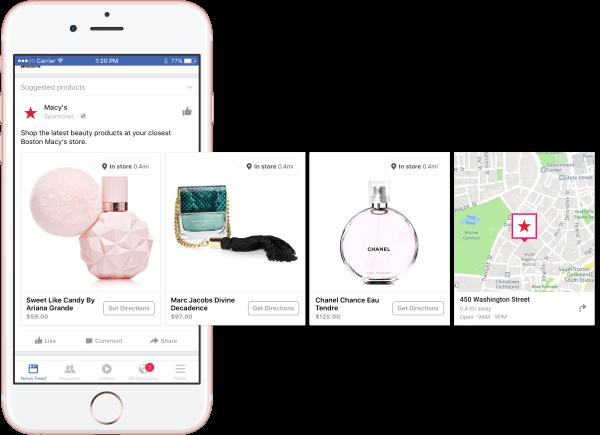 facebook dynamic ads brick mortar retailers