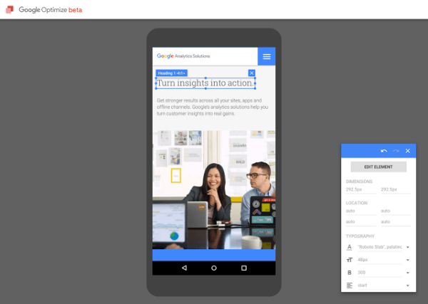 google optimize beta