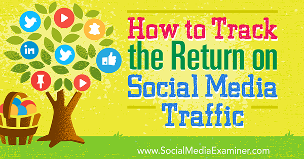 track social media marketing return on investment