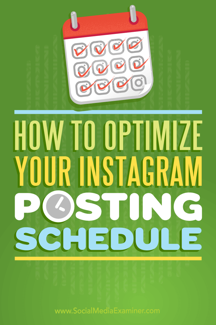 Tips on how to maximize Instagram engagement with an optimized posting schedule.