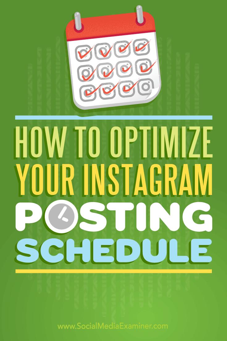 Tipps zur Maximierung des Instagram-Engagements mit einem optimierten Veröffentlichungsplan.