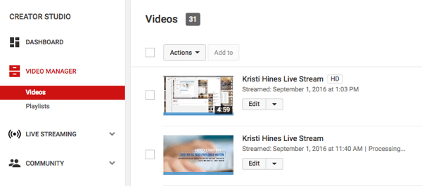 How to Broadcast With YouTube Live : Social Media Examiner