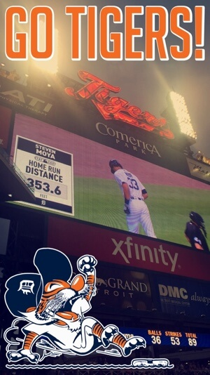 detroit tigers snapchat event filter