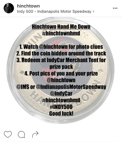 hinchtown scavenger hunt
