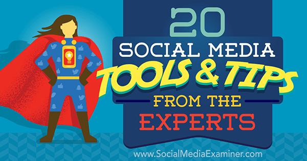 expert social media tactics