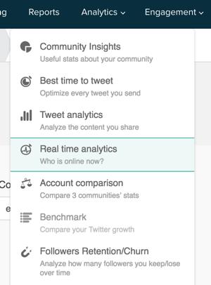 audiense analytics reports
