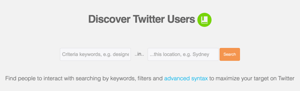 audiense discover new twitter users