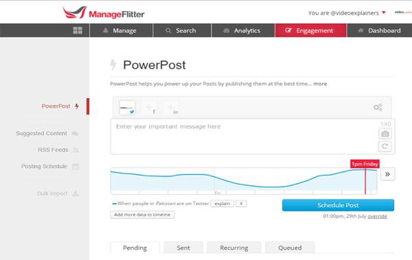 manageflitter powerpost