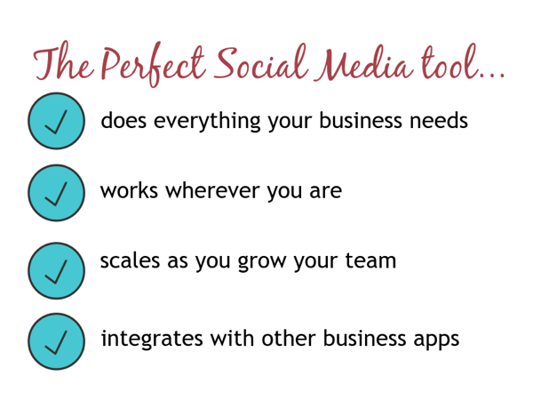 social media tool requirements