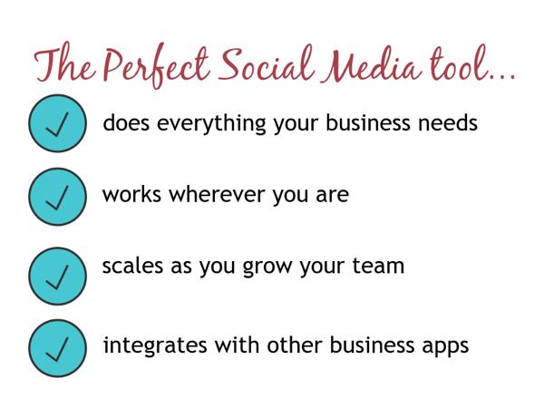 social media tool requirements