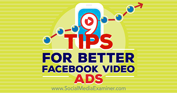 optimize video ads on facebook
