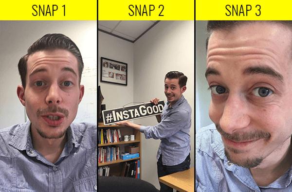 snapchat examples