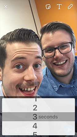 snapchat set snap length