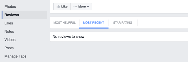 facebook page reviews tab