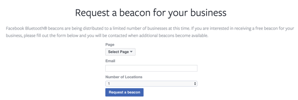 facebook beacon