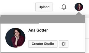access youtube creator studio