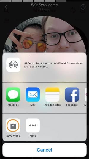 download snapchat memory
