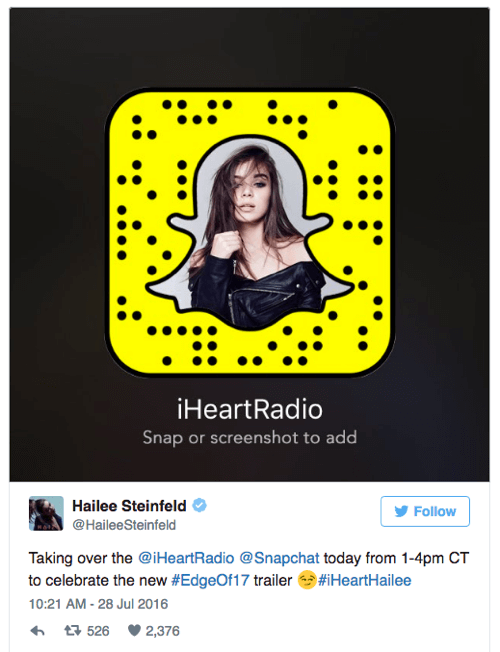 iheartradio snapchat takeover