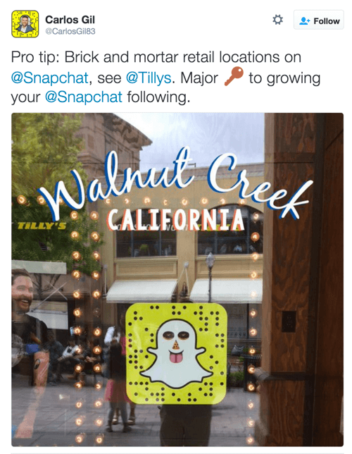 Tilly Snapchat Aufkleber