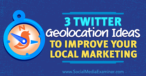 local twitter search using geolocation