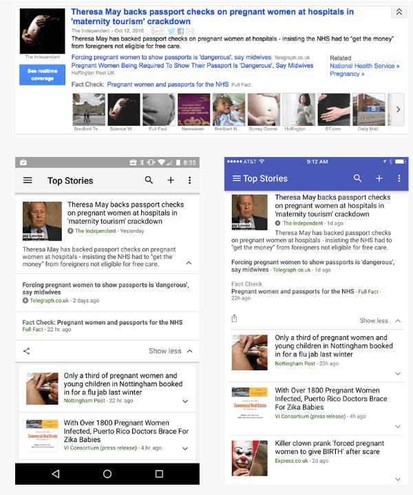 google news fact check tag