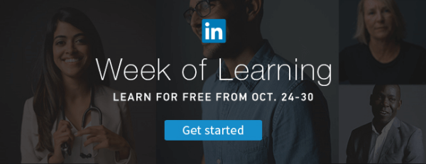 linkedin top skills week of learning